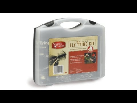 SA Scientific Anglers Deluxe Fly Tying Kit