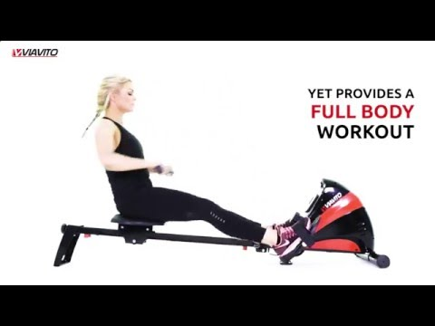 Viavito Sumi Folding Rowing Machine...