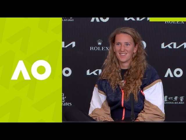 "Victoria Azarenka: ""The situation was out of control."" (1R) press conference 