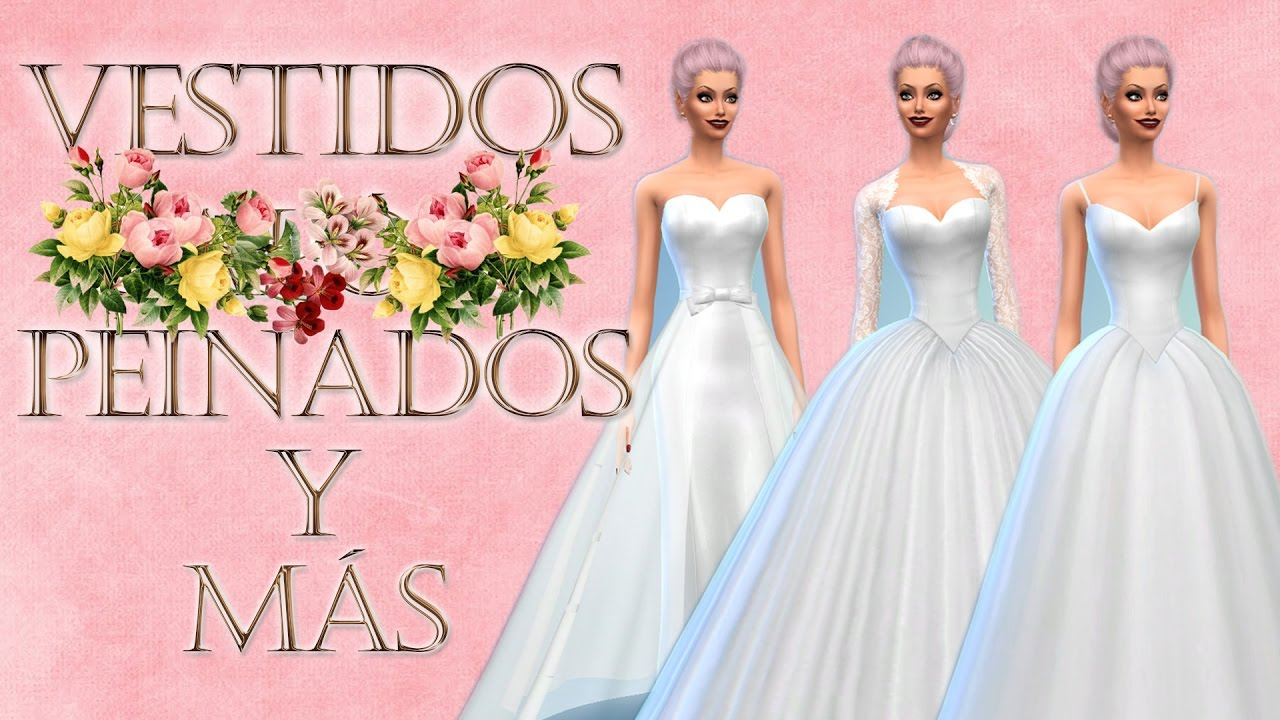 VESTIDOS DE NOVIA, PEINADOS Y ACCESORIOS (download) - YouTube