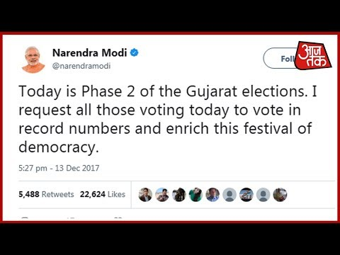 Gujarat Assembly Elections 2017: PM Modi, Rahul Gandhi Appeal People To Vote