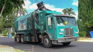 LA City Amrep Octo Garbage Trucks