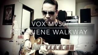 VOX MV50をレスポールで弾いてみた。