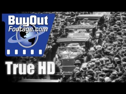 HD Historic Stock Footage - 1932 Rome Italy Hosts Confab Of Trans-Atlantic Pilots