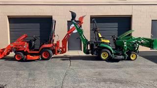 John Deere vs Kubota: BX vs 1 Series Tractors