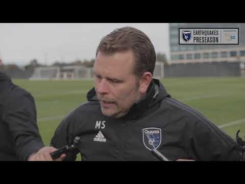 Mikael Stahre speaks ahead of first season with Quakes at Media Day