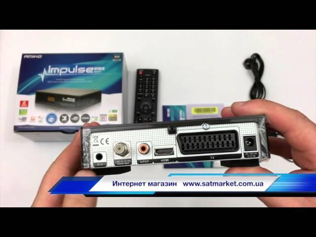 Видео обзор AMIKO HD IMPULSE WIFI