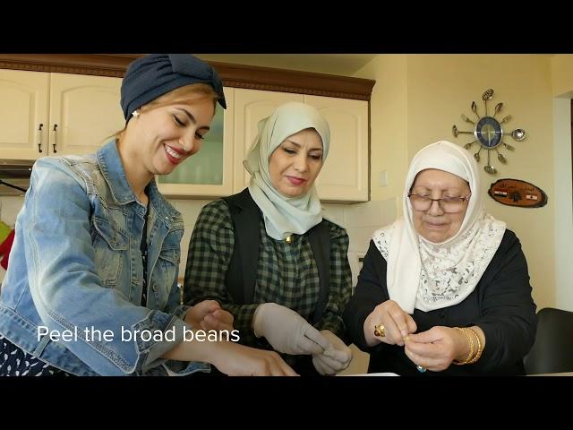 Grandma's Timman Bagila (rice with beans) recipe