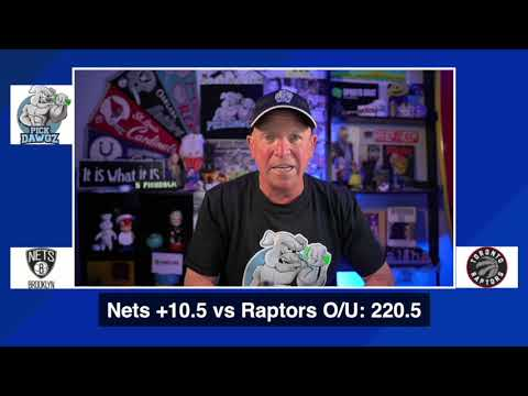 Toronto Raptors vs Brooklyn Nets 8/21/20 Free NBA Pick and Prediction NBA Betting Tips