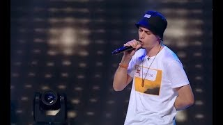 Zila Mike cântă o compoziţie proprie de rap. Vezi interpretarea concurentului, la X Factor!