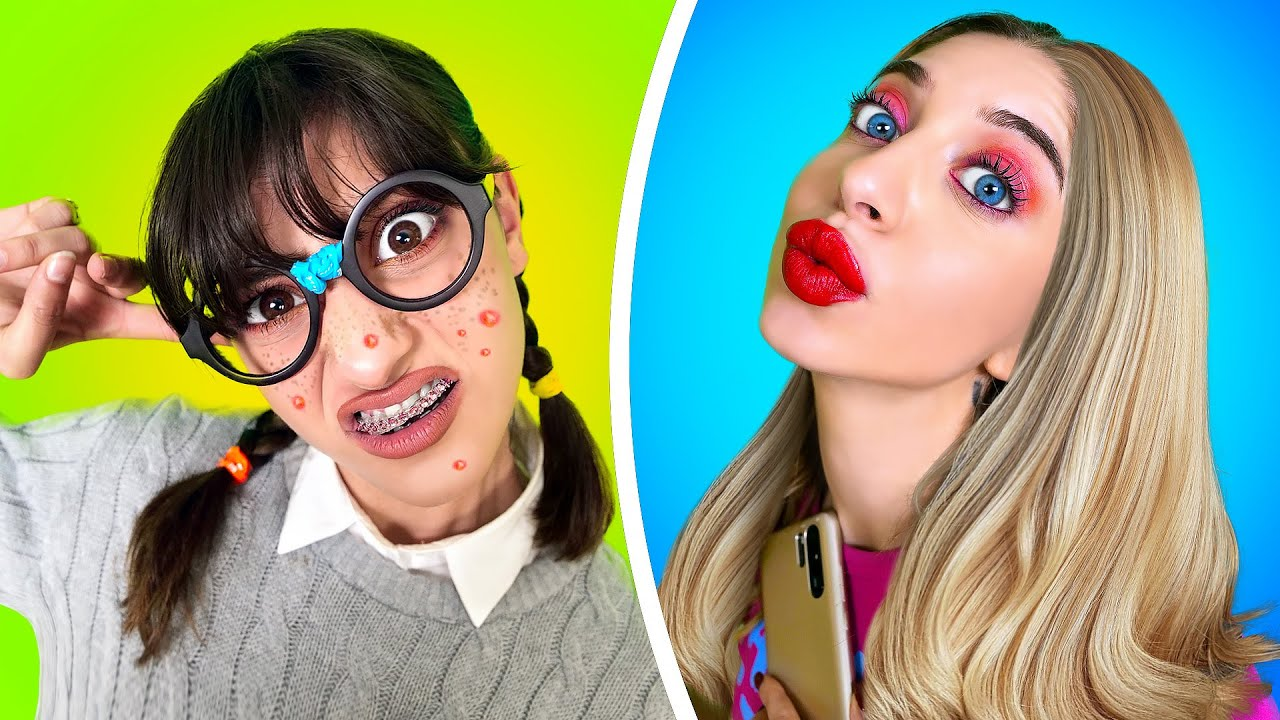 POPULAR GIRL vs NERD! How to Be Cool in College - Relatable School Moments by La La Life Musical