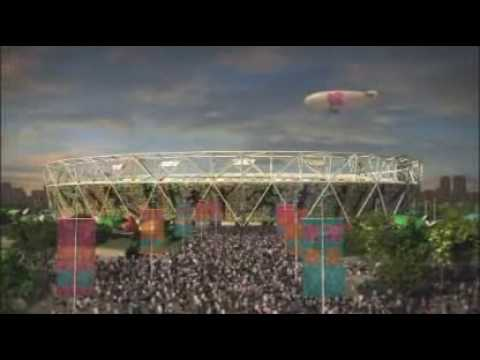 The London Olympic Stadium 2012