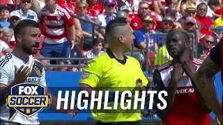 FC Dallas vs. LA Galaxy | MLS Highlights | FOX SOCCER