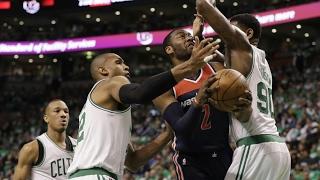 Washington Wizards vs Boston Celtics - 1st Half Highlights   Game 7   May 15, 2017   NBA Playoffs