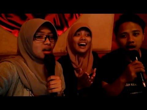 21/01/2016 Ada Band - Setengah Hati (Karaoke by Neny, Muin, Lely)