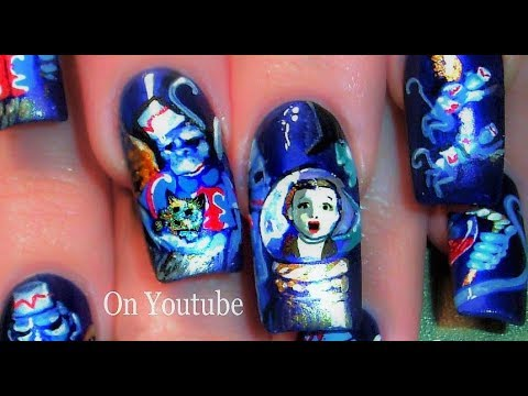 Wizard Of Oz Nails Best Nail Art In The World To Learn Step By