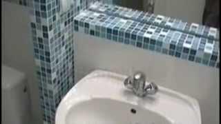 """Дизайн  и ремонт ванной комнаты и туалета в """"хрущевке"""". Как сделать оригинальную ванную комнату"""