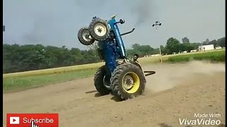 ,Tractor Stunt, With Punjabi Song Whatsapp Status...