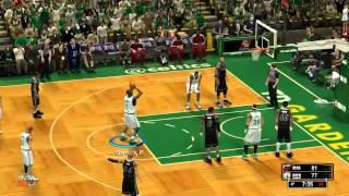 NBA 2K13 PC Gameplay Recap Celtics-Heat 2012-13 (Ganar en Hall of Fame Parte 2)