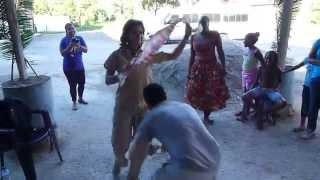 Qué sabroso este baile de tambor en #Birongo!