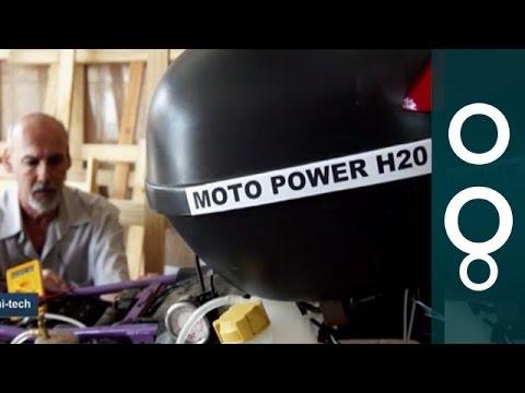 """Moto Power H2O"" - Water-Powered Motorbike From Brazil"