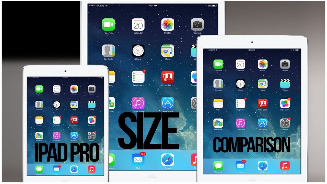 how to change ipad screen size