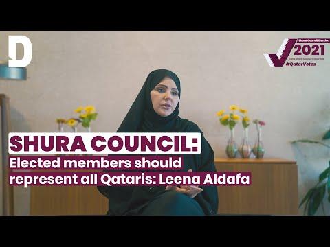 Elected Shura Council should represent all Qataris: Leena Aldafa