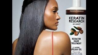 Keratin Hair Treatment Instructions in Spanish Language