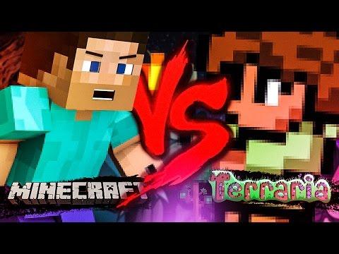 Minecraft VS. Terraria | Duelo de Titãs