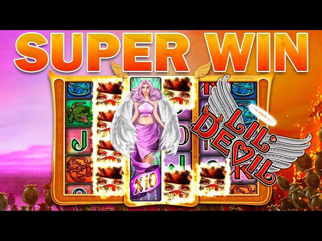 WORST SYMBOL = BEST SYMBOL? SUPER MEGA BIG WIN ON LIL' DEVIL (Big Time Gaming)