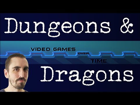 Dungeons & Dragons - Video Games Over Time |