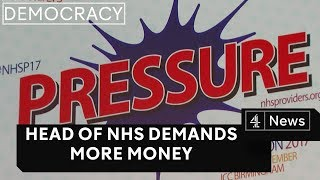 Head of NHS England demands more money
