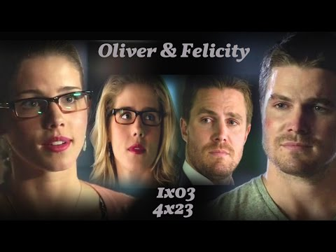 Oliver and Felicity - Kindly calm me down