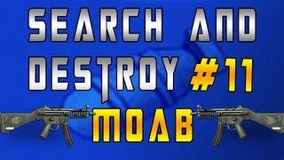 mw3 search destroy m o a b 11 w mp5