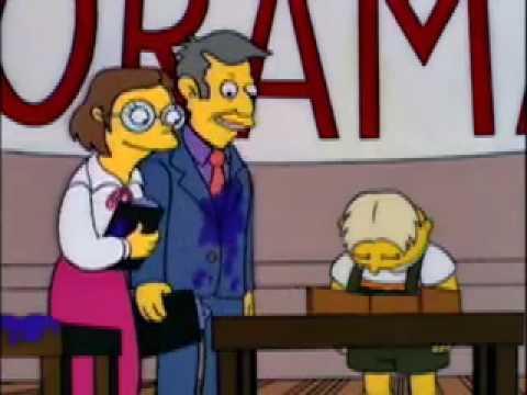 Simpsons tell tale heart