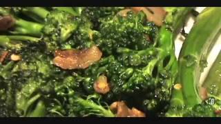 Garden Broccoli Recipe - Garlic Oil Broccoli With Red Hot Pepper