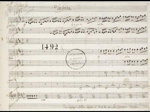 Galuppi, Il Filosofo Di Campagna (1754) - Sinfonia (score)