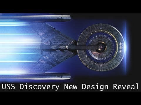 USS Discovery New Design Reveal (2017) (Trekyards Discussion/Analysis)
