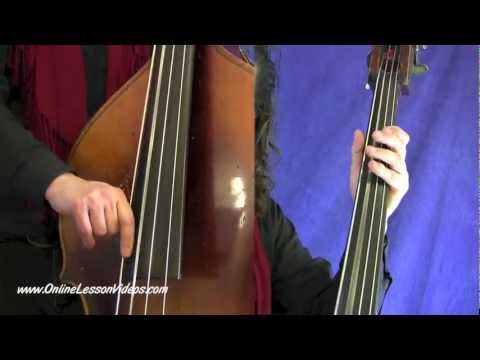 BLUEGRASS BASS LESSONS - [HD] The Basics Volume #1 - by Marc Torlina