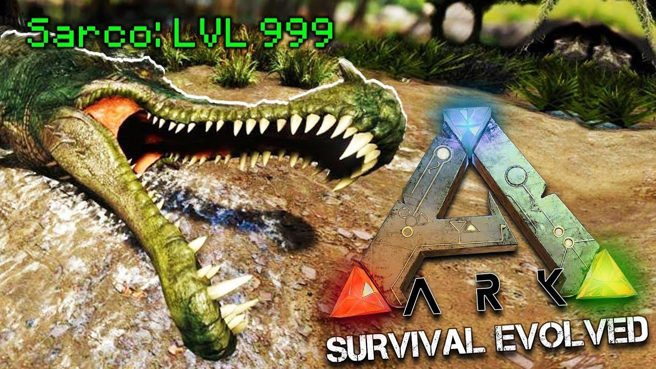 Update New Attack For Crocodile Sarcosuchus Ark Survival