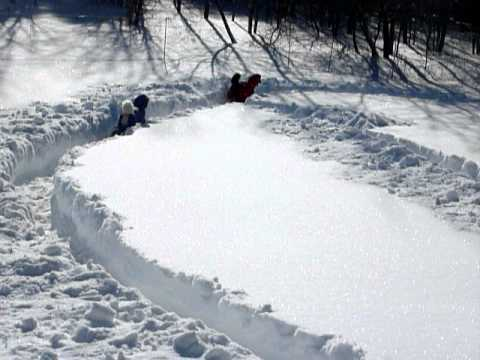 Snow MAZE for Poodles