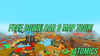 Minecraft - Battle Mode Atomics Map! - Java / Bedrock / Legacy - (Free Download!) - Ft. @TedwaTeddy