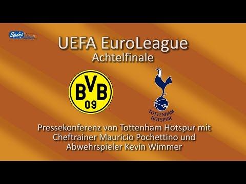Borussia Dortmund vs Tottenham Hotspur: Press Conference with Mauricio Pochettino and Kevin Wimmer