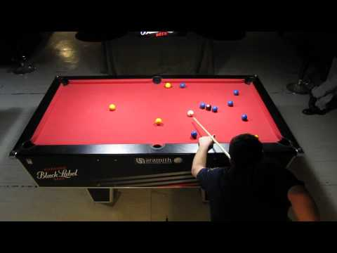 2014 Blackball Pro League South Africa - Clivedon Titus vs David Kriel