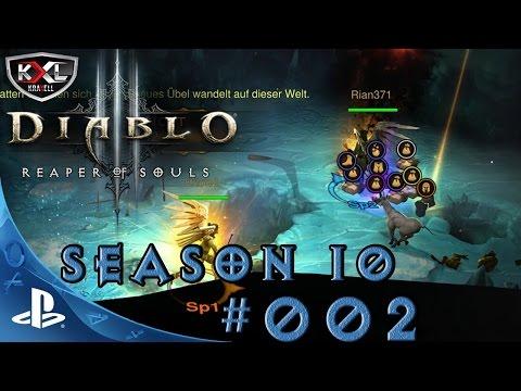DIABLO 3 [PS4 Pro   UEE   SEASON 10 ] #002 - Unser erstes LEGENDARY! ➥ Let's Play