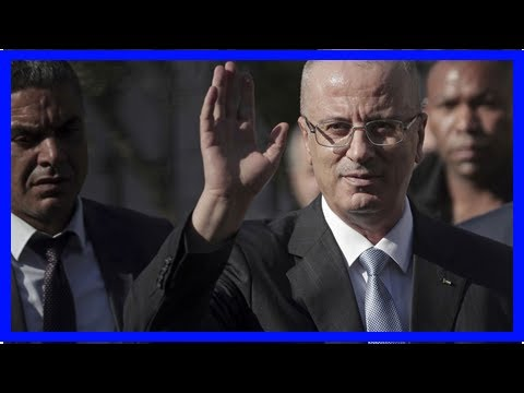 The Latest: Palestinian PM unharmed in Gaza bombing