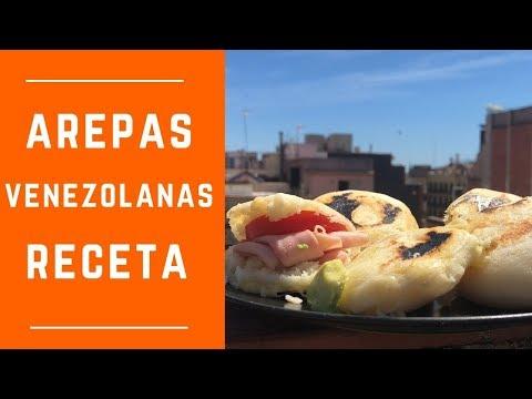 Como hacer Arepas Venezolanas, Receta Tradicional latina