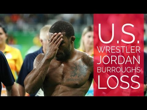 Jordan Burroughs loses in quarterfinals, out of medal contention