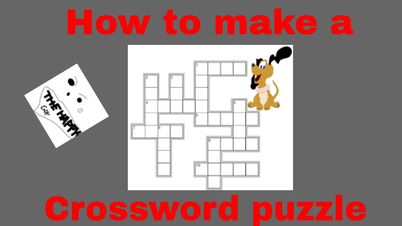 How To Make Your Own Crossword Puzzle Microsoft Word Ep 2 Youtube