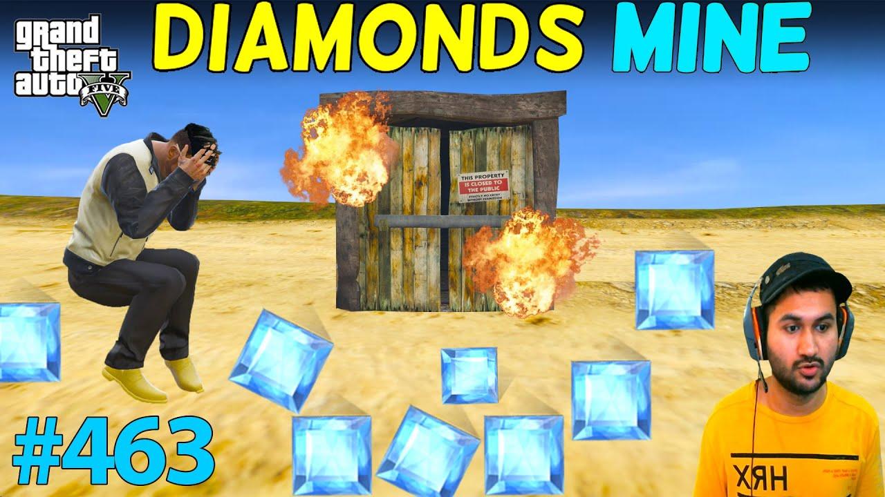 BIGGEST DIAMONDS MINE OF LOS SANTOS DESTROYED GTA 5 | GTA5 GAMEPLAY #463